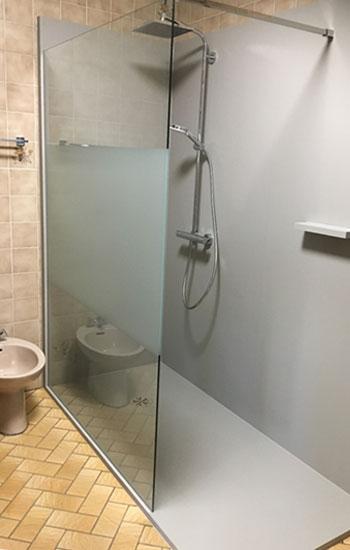Nieuwe douche op de plaats van je oude bad