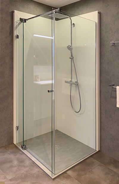 Vervang je bad door deze inloopdouche van Aquabox